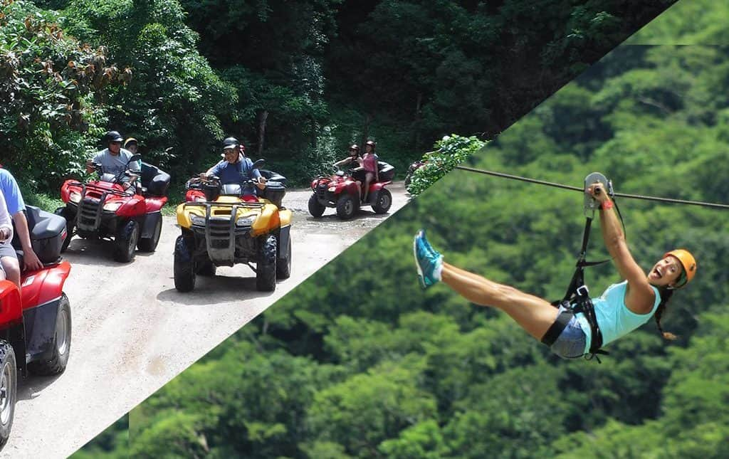 ATV Tours in Puerto Valllarta - ATV Zip Line Combo