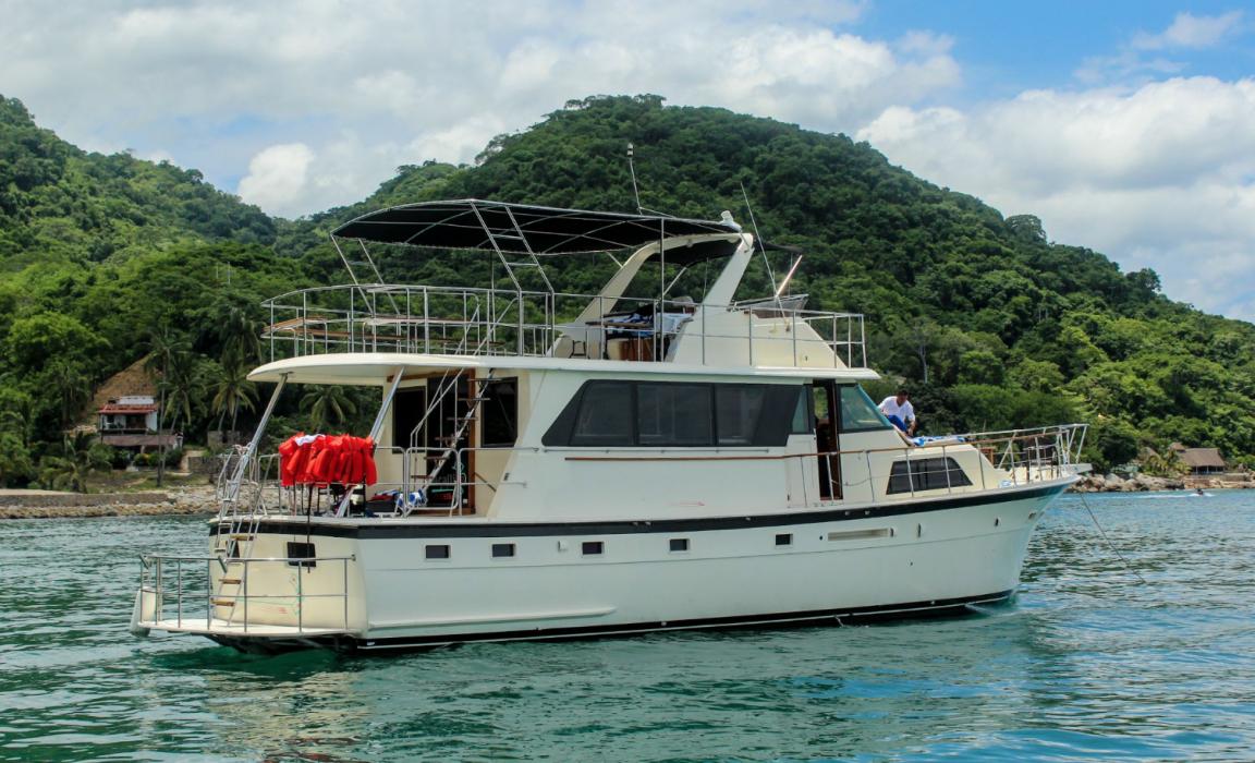 Yacht 58 foot